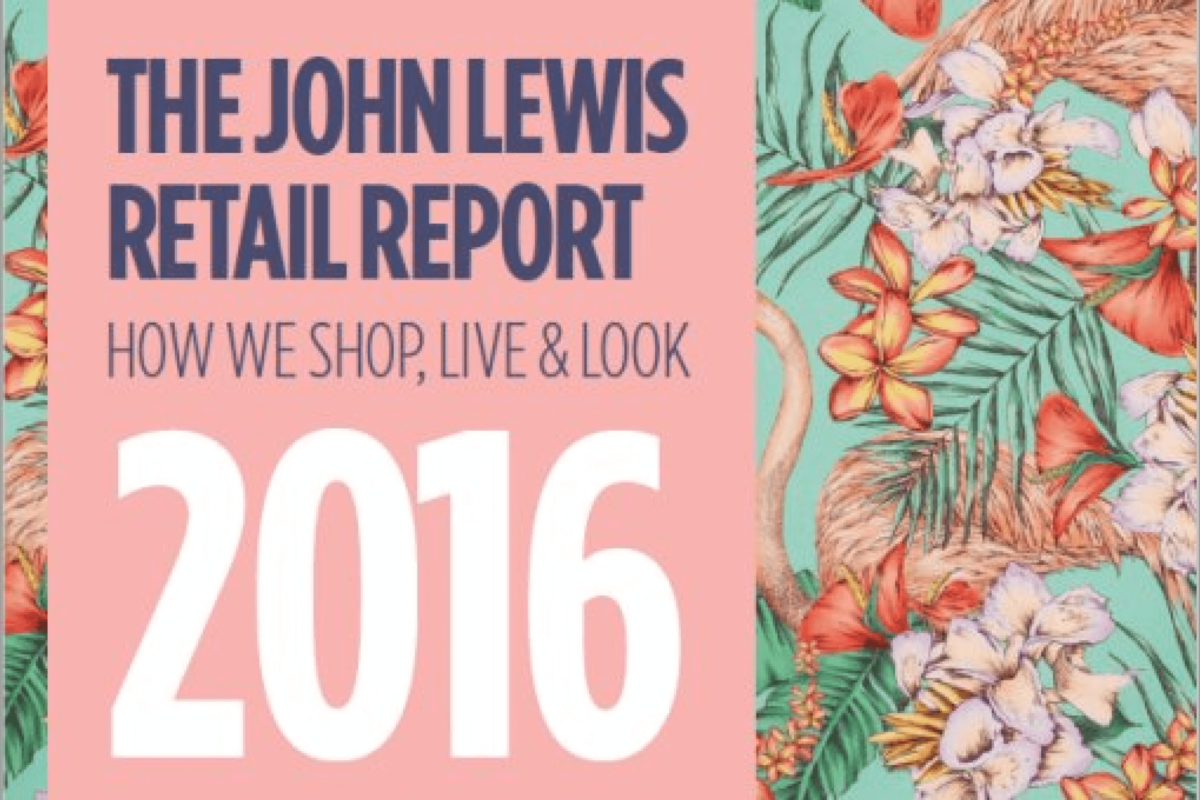 John Lewis Retail Report 2016