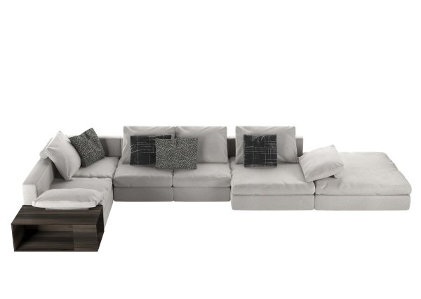 Mosaique sofa for De Padova