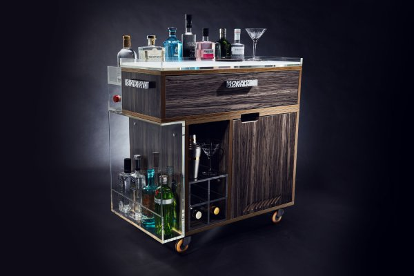 The Gin Trolley by Quench Home Bars