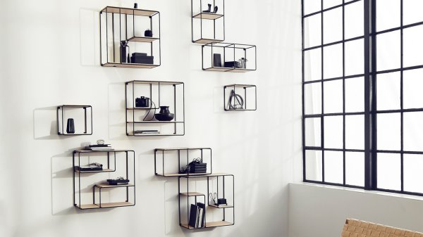 Anywhere Shelving by Korridor Design