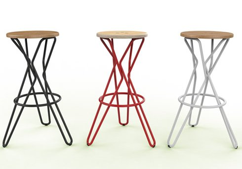 Olly bar stool by Junction Fifteen