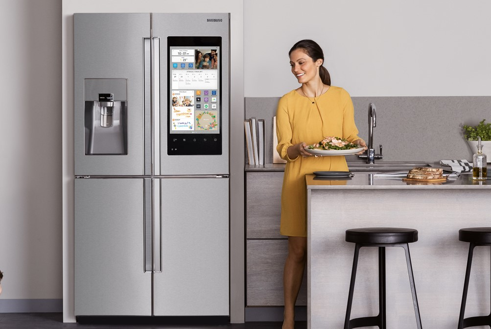 smart surfaces on fridges