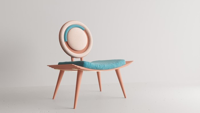 Candy Coloured Curves 100 percent design london 2019