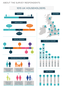 Kitchen Behaviours Respondent Infographic