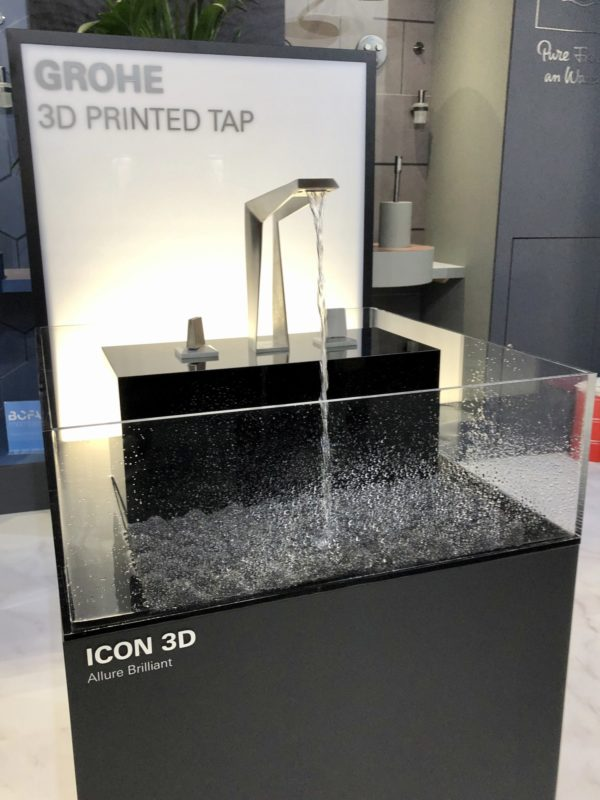 Grohe 3d Icontap Sleep + Eat 2019 design trends