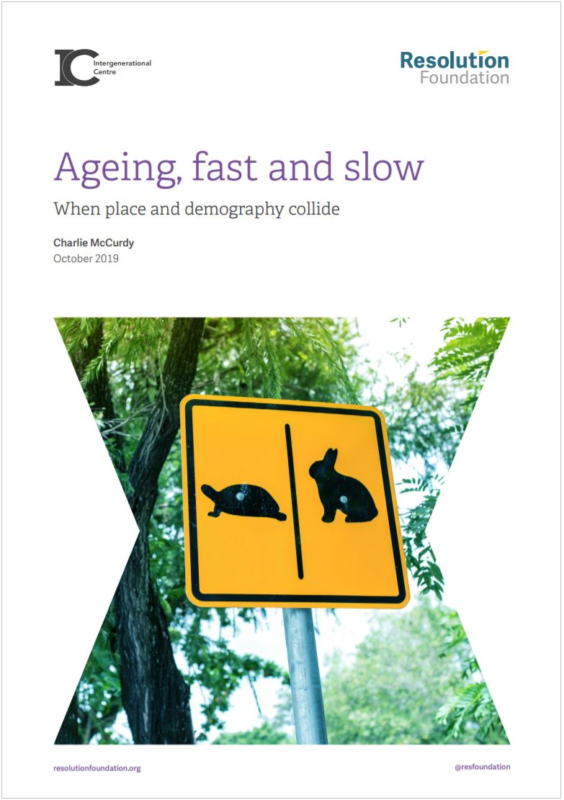 Ageing fast and slow report