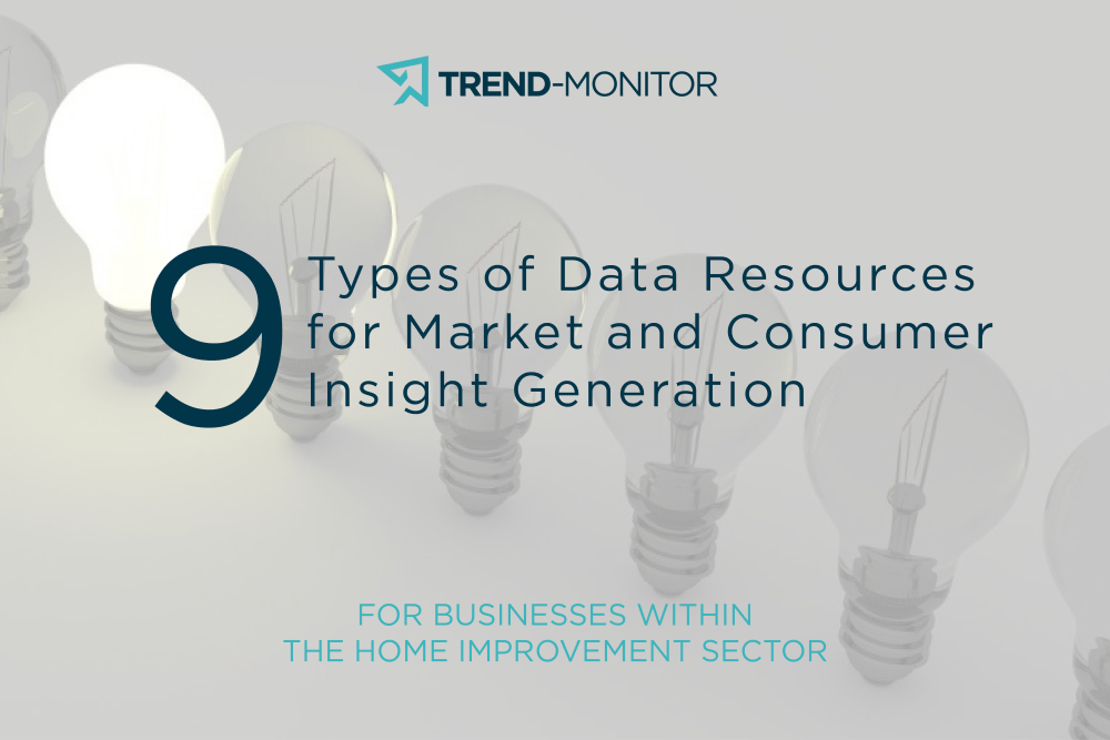 9 types of data resources for home improvement businesses