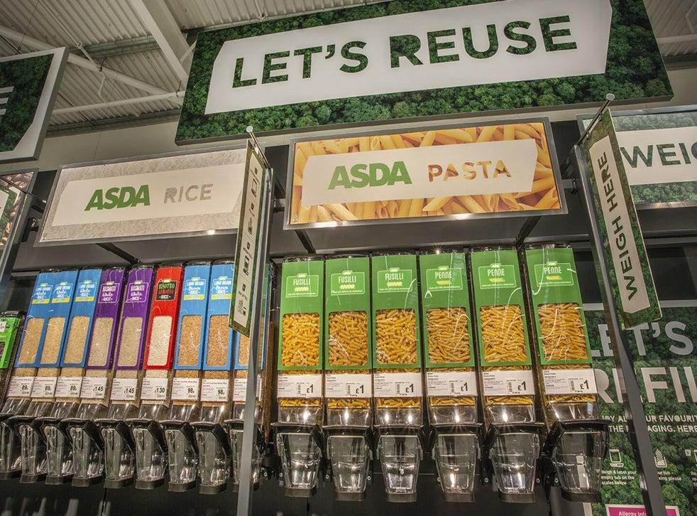 supermarket refill stations